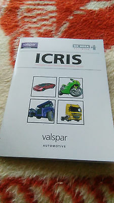 DeBeer Refinish Icris Colour Waterbase Software Car Paint Automotive Valspar