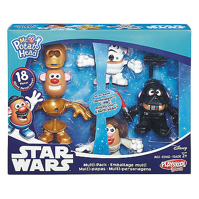 New Hasbro Playskool Mr Potato Head Star Wars Multi-Pack Mph B5145