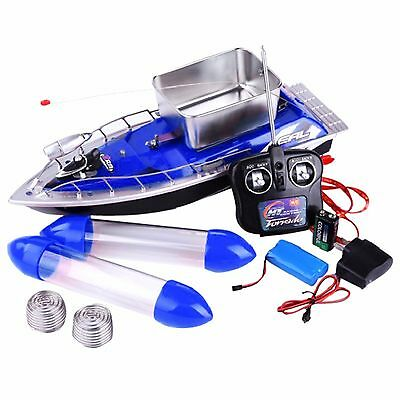 Bait Runner Fishing Remote Control Boat Carp Coarse 5200mAh 10 Hour Sailing Time