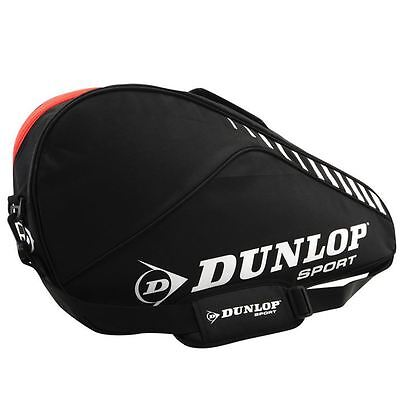 Dunlop Club 3 Racket Bag Shoulder Straps Gaming Playing Sport Active Accessory