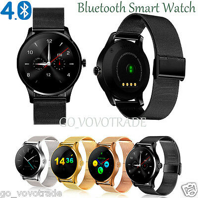 Lot Bluetooth Waterproof Smart Watch Heart Rate Wristwatch for iPhone Samsung