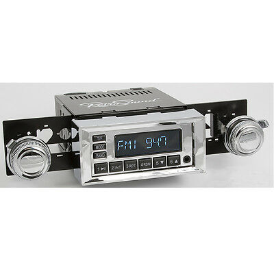 AMC AMX 1967-70, RetroSound Car Radio for classic cars USB, BT