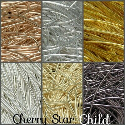 20cm french wire silver gold for pendant earrings necklace crafts findings