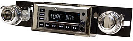 CHEVROLET CHEVY NOVA 1968-79 vintage car radio RetroSound ONE C, USB + SD