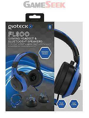 Fl-300 Bluetooth Stereo Hs Blu - Playstation Ps4 Xbox One Pc Brand New
