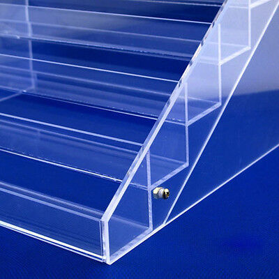 6 Tier Clear Acrylic Display Stand Organizer Cosmetic case Storage Box