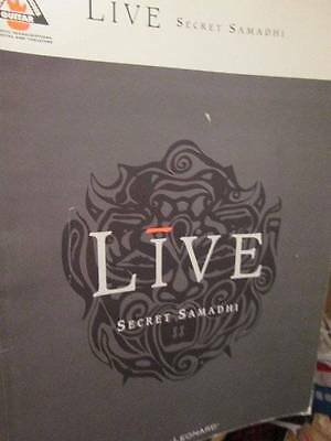 Live Secret Samadhi Music Book-Recorded Guitar Versions, Paperback, 1997