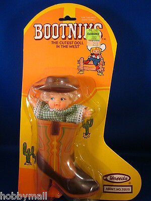 1981 Bootniks The Cutest Doll In The West By Uneeda