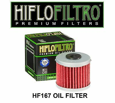 HiFlo HF167 LML125 Star 4T CVT 4T 150 Star CVT 4T Scooter Replacement Oil Filter