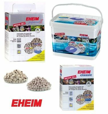 Eheim Media Set Pro Professionel Classic External Filter Fish Tank Kit Substrat