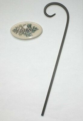 LONGABERGER PARSLEY Tie on / Metal Stake for Garden