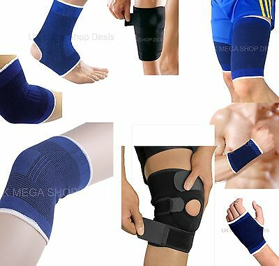 Elastic Knee Wrist Palm Calf Thigh Ankle Elbow Support Brace  Bandage Gym Sports