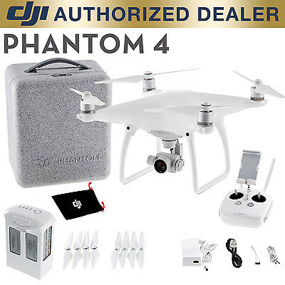 DJI Phantom 4 Gimbal Stabilized 4K 12MP Camera Drone Quadcopter NEW IN BOX