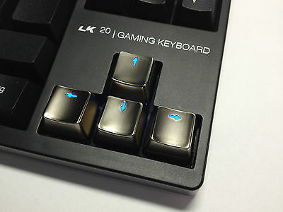 Zinc Metal Direction KeyCaps UP Down Left Right Key set for Mechanical Keyboard