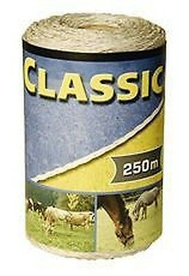 Corral Classic Fencing Polywire 250M Equine Horse Fencing