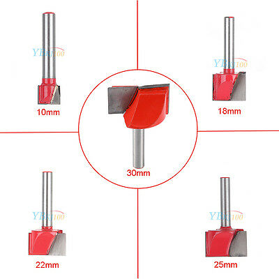 Wood Engrave Router CNC V Groove Bottom Cleaning Bit Five Sizes Milling Cutter