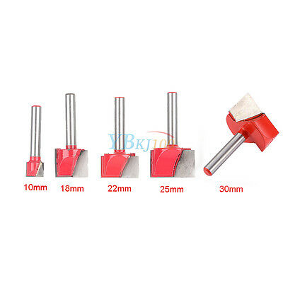 Round Shank Cutting V Groove Cleaning Bottom CNC Router Bit Milling Cutter