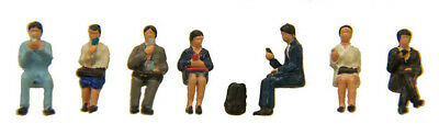 "Kato 24-242 Model People ""Cellphone (Sitting)"" (N scale)"