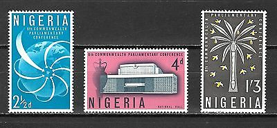 Nigeria Sc#138-40 MNH 8th Commonwealth Parlimentary Conference