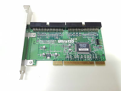 Promise Ultra133 TX2 PCI IDE ATA/133 Controller Card TESTED