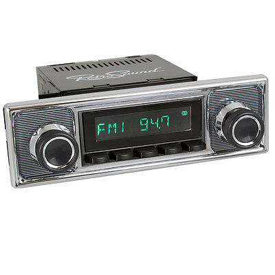 MERCEDES VW; RetroSound ZUMA, Car Radio for classic cars and Youngtimer with USB