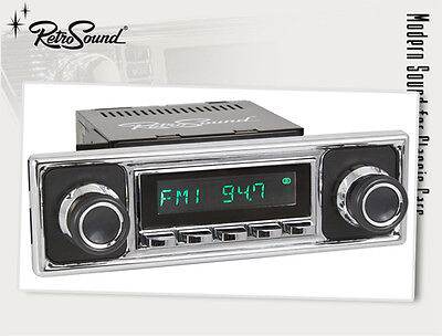 MERCEDES BMW; RetroSound ZUMA Car Radio for classic cars and Youngtimer with USB