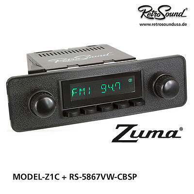 MGB 1962-80 RetroSound ONE C, Car Radio for classic cars with USB, SD, MP3,