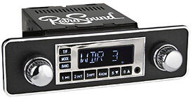 MERCEDES; RetroSound ONE C, Car Radio, Radio for classic cars with USB, SD, MP3