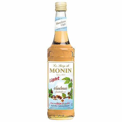 Monin Sirup Haselnuss Light, 0,7L