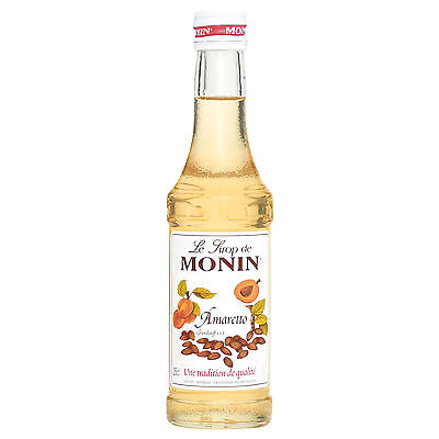 Monin Sirup Amaretto, 0,25L