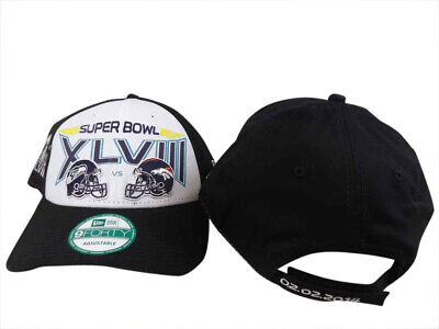 6f32ff449be33 SUPER BOWL XLVIII New York New Jersey NFL Franchise Hat Cap 47 Brand ...