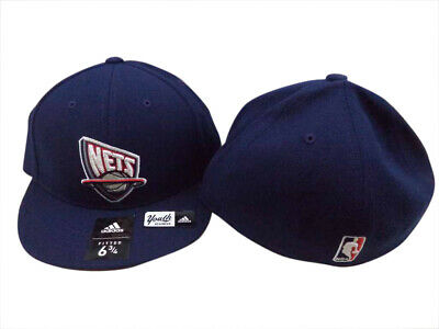 2032e95a0c043 HOUSTON ROCKETS ADIDAS NBA Red Youth Fitted Flat Brim Hat Cap 6 3 4 ...