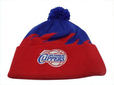 af5080fd21d ... wholesale los angeles clippers nba mitchell ness sharktooth hat cap  toque beanie knit os 74648 2912a