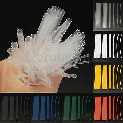 100Pcs Multi Color 2:1 Heat Shrink Tubing Wire Cable Sleeving Wrap Wire Kits