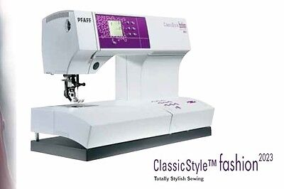 Pfaff ClassicStyle 2023 Instruction manual in English Download-File