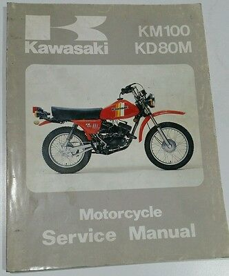 1978 to 1986 Kawasaki KM100 KD80M service manual