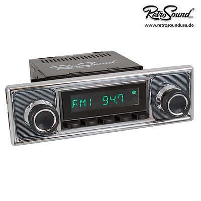 BMW 502 1954-61, RetroSound Car Radio for Oldtimer Youngtimer USB, BT, AUX