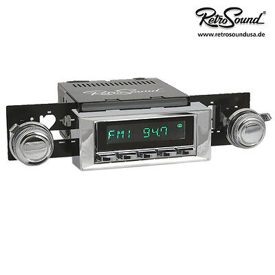 AMC Pacer 1975-80 RetroSound Car Radio for Old/Youngtimer USB BT
