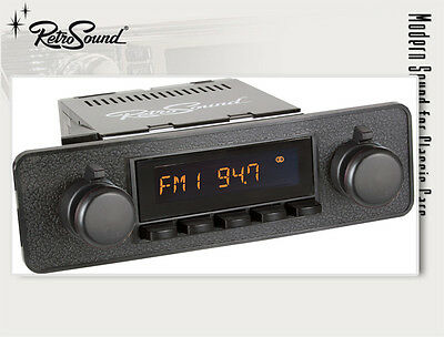 MERCEDES,VW; Car Stereo Radio for classic cars and Youngtimer RetroSound ZUMA,