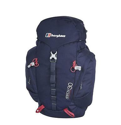 Berghaus Arrow 30 Rucksack Evening Blue/Dark Cerise NEW