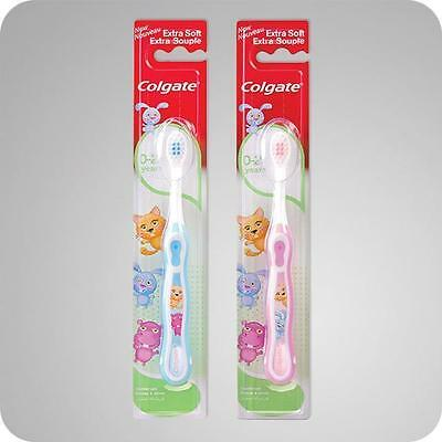 ** Colgate 0-2 Years Extra Soft Souple Toothbrush Childrens Various Colours New