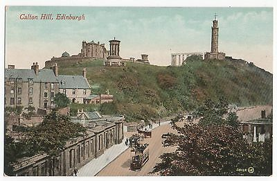 POSTCARD SCOTLAND EDINBURGH  Carlton Hill