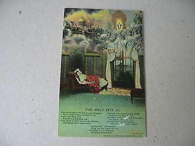 POSTCARD SONG CARDS  The Holy City (3)