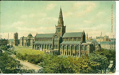 POSTCARD SCOTLAND GLASGOW The Cathedral