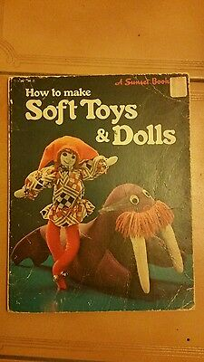 How to make soft toys and dolls 1977