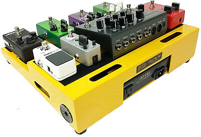 Pedalboard; Accel  XTA-15  Guitar Effects  & Six Patch Cables without Case