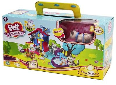 Pet Parade 70021211 - Cats Play House Spielzeug Spielset