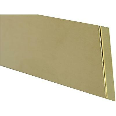 K&S .032X1/2X12 Brass Strip