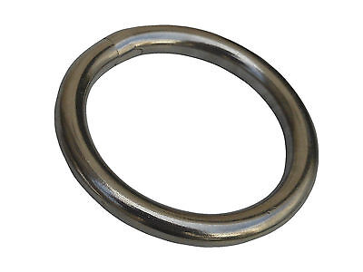 """RIGGING RING 1//2/"""" x 2-3//8/"""" S0139-1260 STAINLESS ROUND RING"""