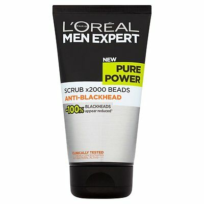 L'Oreal Paris Men Expert Pure Power Scrub Face Wash 150ml